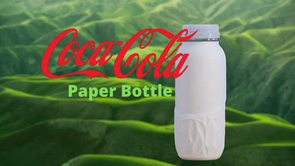 Coca Cola Company Trial First Paper Bottle
